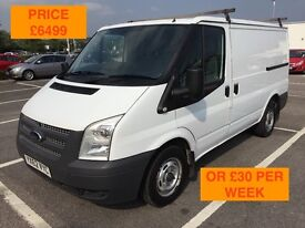 2012 FORD TRANSIT 125 T260 FWD / NEW MOT / PX WELCOME / NO VAT / FINANCE AVAILABLE / WE DELIVER