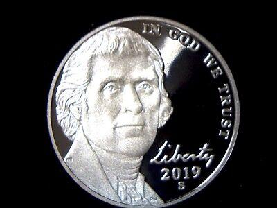 - 2019 S 5C Proof Jefferson Nickel **FREE SHIPPING**