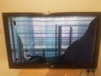 LG 47inch 3d tv for sale spares or repair