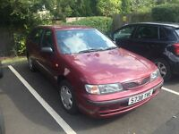 Nissan automatic hatchback. Good running order. MoT March 2017.