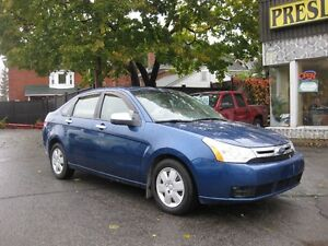 2008 Ford Focus SE, manual, p/w p/l htd seats, cruise, a/c