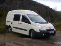 Peugeot Expert with professional Denby Buckingham conversion - kitchen, lounge, C200 flush toilet