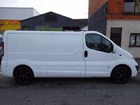 Finance me from £5.35 a day! NO VAT! Vauxhall Vivaro 2900 LWB Sportive Van 11 plate (8)