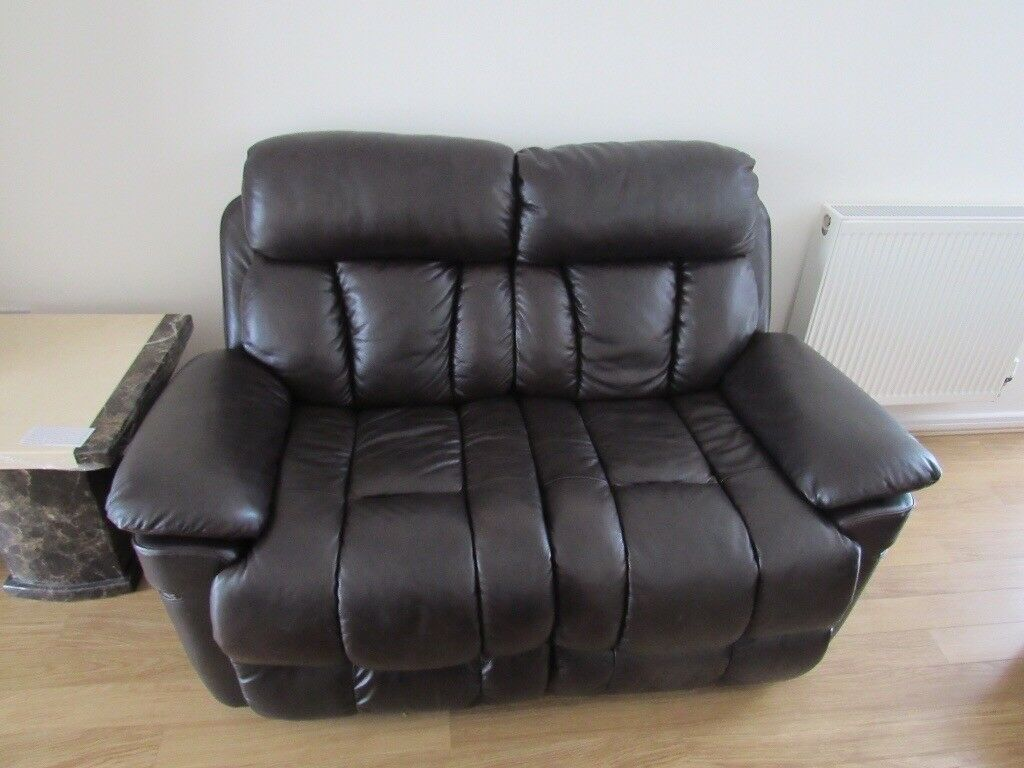 2 Seater 100 Genuine Leather Sofas Greenhithe Kent Gumtree Sofa
