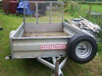 trailer with ramp door