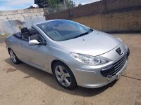 2007 peugeot 307 cc 307cc 2.0 HDI Sport GT 2dr, Fresh 12 Months MOT and Just had a Service