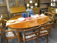 Dining table and 6 chairs #23796 £79