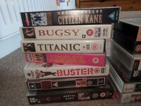 21 VHS Video Tapes (Including 12 Classic Films) for £10 (Netherlee)