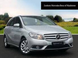 Mercedes-Benz B Class B180 BLUEEFFICIENCY SE (silver) 2014-08-01