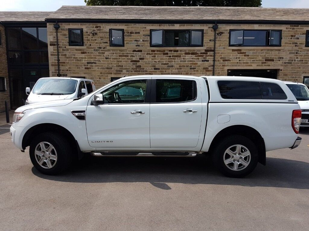 Ford RANGER LIMITED 4X4 DCB TDCI 2.2 TDCi Limited 2 Double Cab Pickup 4dr  Diesel Manual 4x4