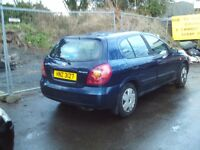 nissan almera breaking 1.5 GEARBOXES