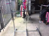 Clothing Display Rails