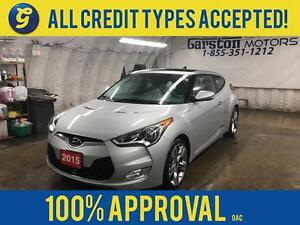 2015 Hyundai Veloster TECH*NAVIGATION*POWER SUNROOF*BACK UP CAME
