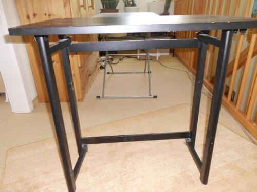 eckschreibtisch schwarz holz, holzklapptisch schreibtisch schwarz holz beistelltisch 70x50x70cm in, Design ideen