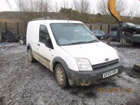 Transit Connect T200 TDDI SWB 1.8 2003 breaking for spares Wheel Nut.