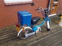 YAMAHA QT CUTEE YAMAHOPPER 49CC 50CC MOPED PW50 ENGINED CLASSIC INSURANCE
