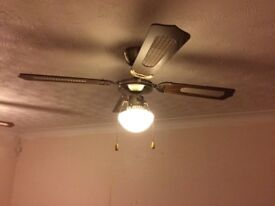 Pair of ceiling fans
