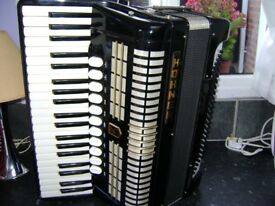 hohner musette 1v 120 bass piano accordion