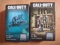 Mega Bloks Call of Duty collector series construction sets