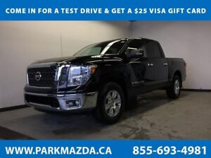 2018 Nissan Titan SV 4x4 - Bluetooth, Backup Cam, Painted Bed