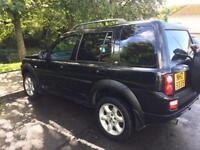 2004 Land Rover freelander 1.8 petrol mot excellent condition cheap 4x4