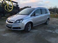 Vauxhall Zafira diesel 7 seats seater