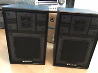 Pair Of Sanyo 25w Speakers