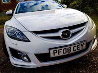 Mazda 6 Sport 08' White 2.5l (170bhp)