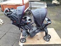 Baby Trend Sit n Stand Tandem Pushchair