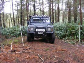 Landrover 110 V8 not Defender