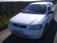 Vauxhall astra 1.7 td van
