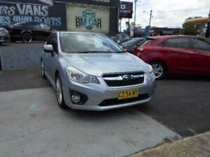 2013 Subaru Impreza G4 2.0i-S Hatchback 5dr Lineartronic 6sp AWD MY14 Silver Sports Automatic Croydon Burwood Area Preview