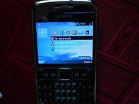 Nokia e71 silver steel UNLOCKED