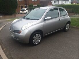 Nissan Micra AutoVery Low MileageFull Service History Long MOT Drives Well Aircon Electric Windows