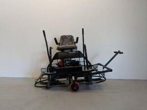 HOC H390 HONDA 30 INCH RIDE ON POWER TROWEL + 2 YEAR WARRANTY + FREE SHIPPING + FINANCING AVAILABLE