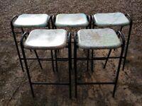 Stacking stools