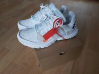 Nike x off white presto. Triple white UK size 10