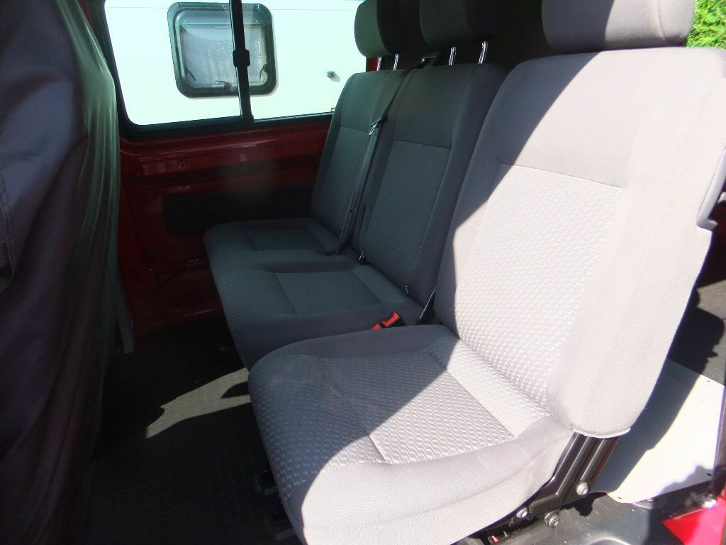 Vw T5 Transporter Kombi Van Lwb Highline Rear Seats And