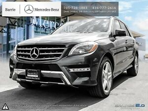 2014 Mercedes-Benz M-Class ML350! Nav! Blind Spot! Back up Cam!