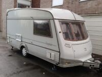 abi daystar 2 berth touring caravan