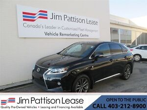 2015 Lexus RX 350 3.5L AWD F Sport w/NAV! Loaded 5 Pass.