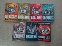 Complete set of 7 Henderson's Boys paperbacks by Robert Muchamore