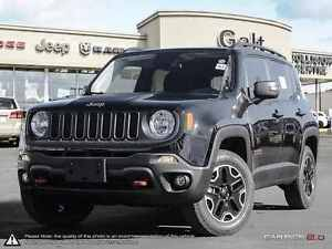 2016 Jeep Renegade TRAILHAWK   4X4   DEMO   6.5 TOUCH  