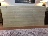 Free Headboard for King size bed. Wall mounting fixings plates included
