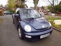 VW New Beetle 2000