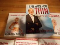 Paul McKenna DVD's I can make you thin as new