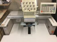 SWF 1201 Embroidery Machine 12 Colours