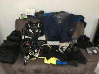 Womans Full Scuba Diving Kit