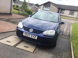 2007 Vw golf 1.9 ... LOW miles80k.. FULL SERVICE.. only 2 owners..1YearMOT...NEW TIMING BELT