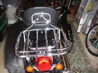 Harley Davidson Chrome Detachable Two-Up Luggage